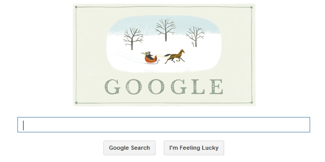 Google Wishes Happy Holidays On Christmas Eve With A Doodle