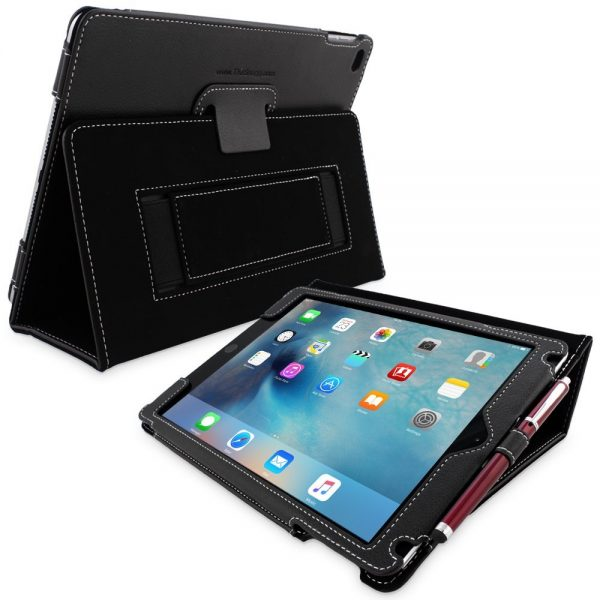 Buy on Amazon: Spigen Tough Armor Apple iPad Mini 4 Case. 5. Snugg Apple iPad Mini 4 Case: The Snugg Apple iPad Mini 4 Case is made from high-quality PU leather and the features include smart cover with auto wake/sleep, flip cover with multiple viewing angles, elastic hand strap etc. The Snugg Apple iPad Mini 4 Case is available in 10 different.